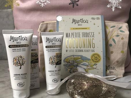 Idée 💡 cadeau 💝La trousse cocooning de la gamme Marilou Bio