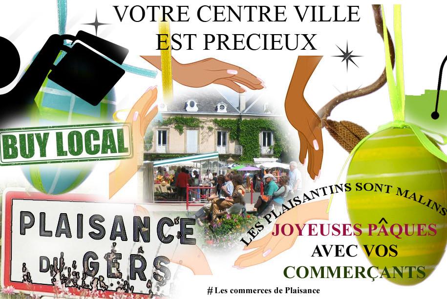 Plaisance centre ville Gers