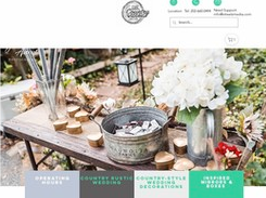 Easy Country Wedding