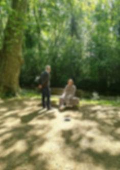 Michel Gagnor | Hypnothérapeute | Séance d'hypnose en forêt