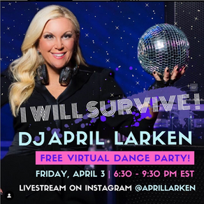 APRIL LARKEN & Children's Learning Centers of Fairfield County LIVE STREAMING Event