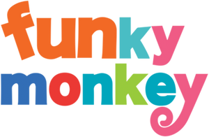 Funky Monkey Toys and Books Greenwich, CT logo