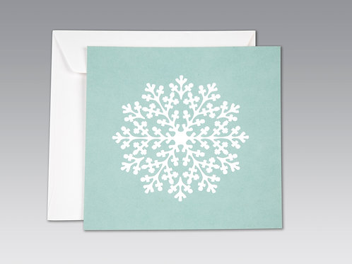 SNOW FLAKE  (8 pack)