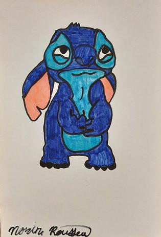 "Norine Rousseau 'Stitch' 5"" x 8"""
