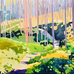 Huckin' Eh 32 x 54 oil on canvas $1385
