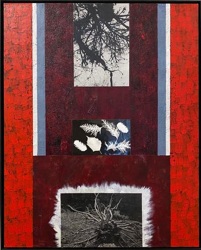 """""""How Prayers Work""""  22"""" x 30"""" Acrylic on Canvas  Perry Rath"""