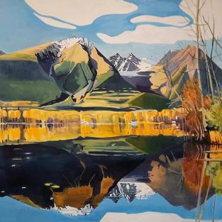 Tasdliz Bin 48 x 60 oil on canvas not for sale