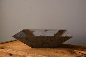 """""""Square Bowl""""  10 w x 10 d x 4.5 h   Copper  Brandon Zimmerman"""