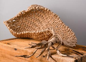 Sea Shell Twine Basket  Anneh Kessels