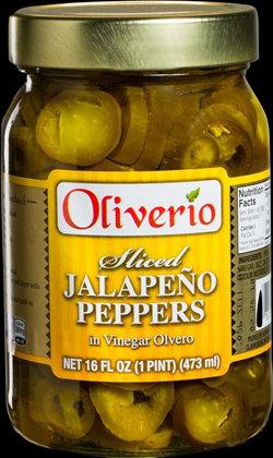 Sliced Jalapenos in Vinegar