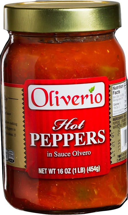 Hot Peppers in Sauce