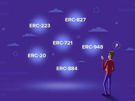 What are ERC721 and ERC20?