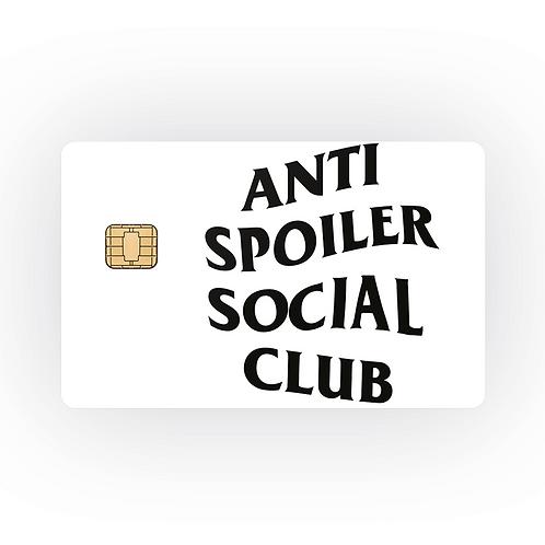 ANTI SPOILER SOCIAL CLUB - COVER