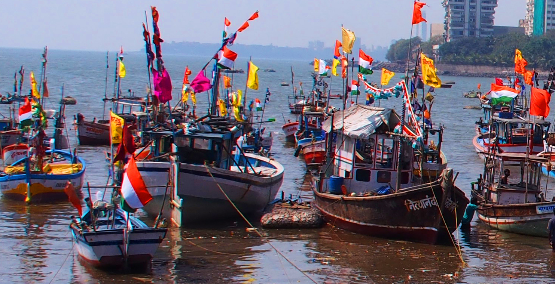 Koli tribal boats