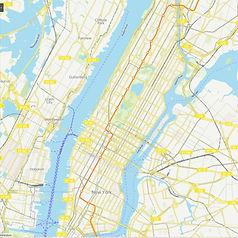 b TRAIN IN MANHATTAN.JPG