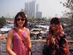 Our guide in Mumbai