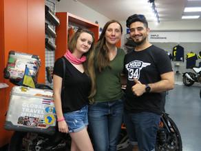 Anna Grechishkina - Motosiklet Üzerinde 5   Yıl - 1 Dünya Turu
