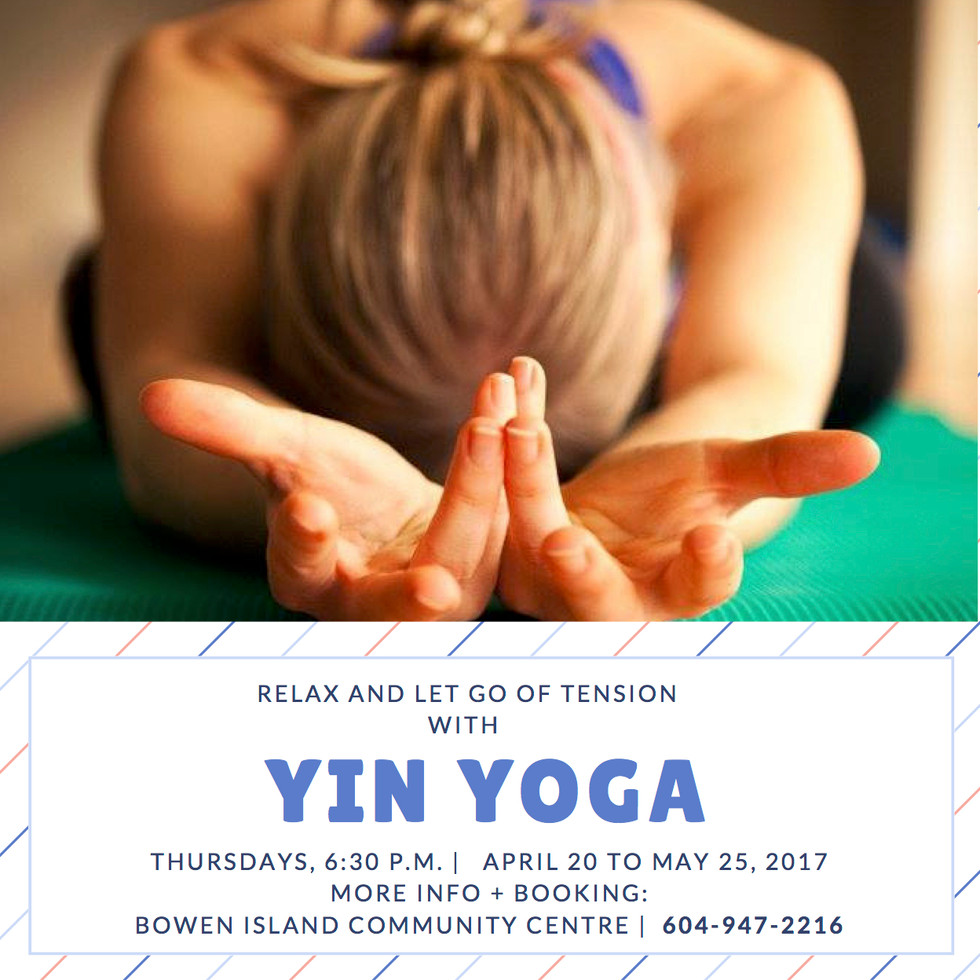 Grow Younger from the inside out with Yin Yoga