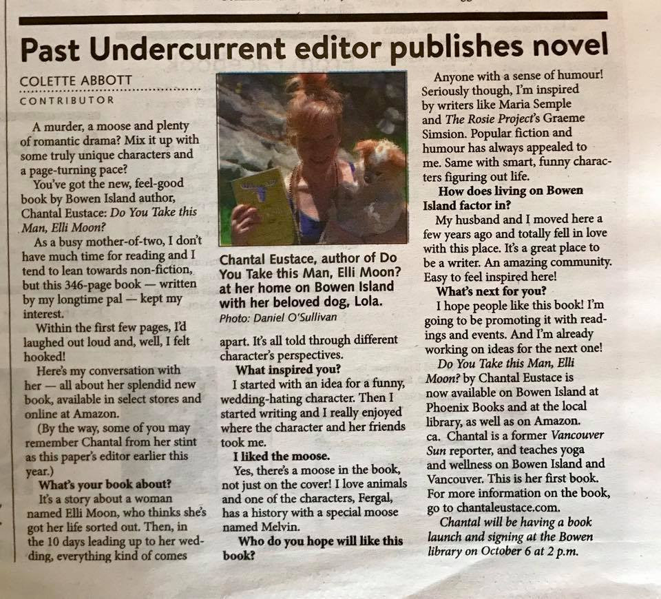 Interview in The Undercurrent