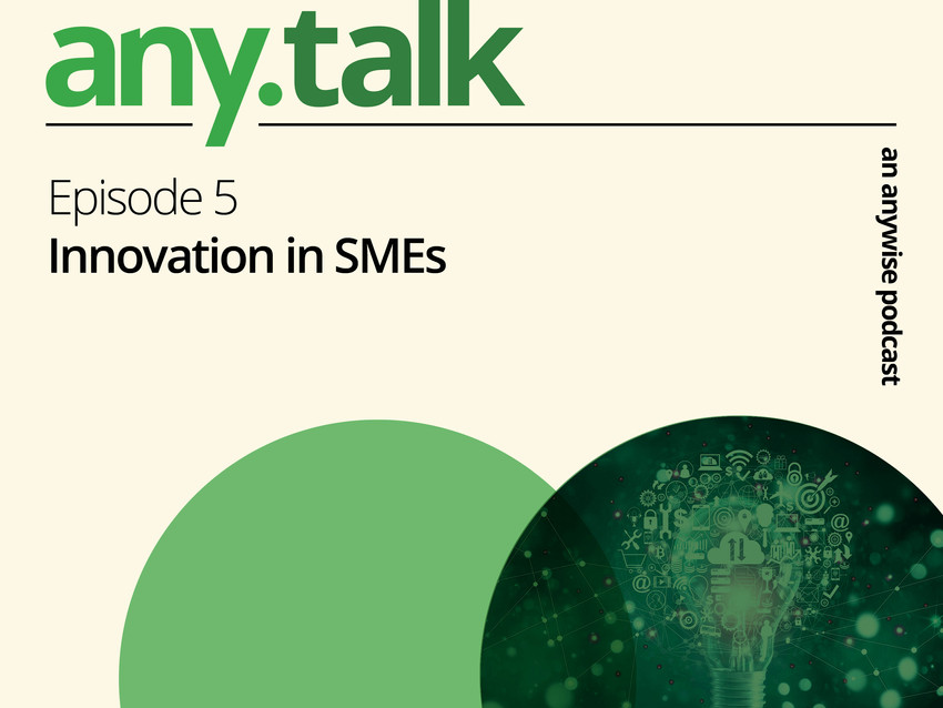 Any.Talk Podcast Episode 5  - Innovation in SMEs