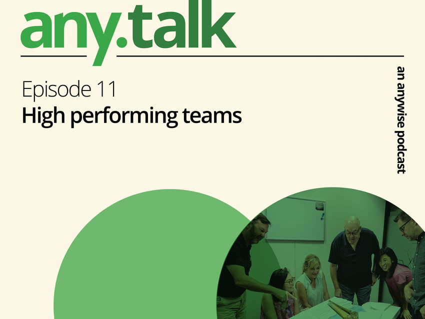 Any.Talk Podcast Episode 11 - High Performing Teams