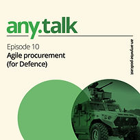 Any.Talk Podcast Episode 10 - Agile Procurement