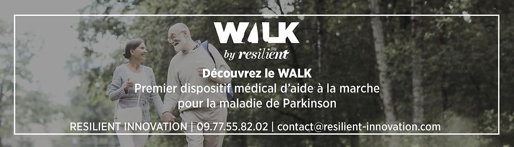 WALK : mieux marcher avec Parkinson