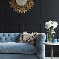 Dark Panelling with blue sofa.jpg