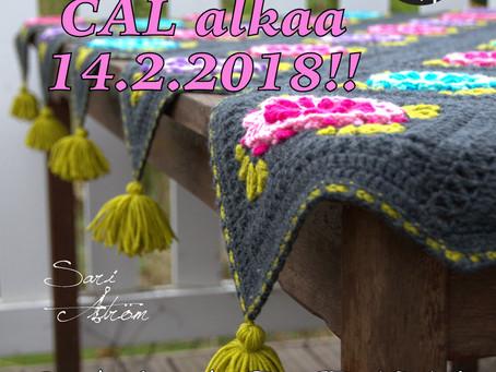 Galadriel CAL alkaa ystävänpäivänä
