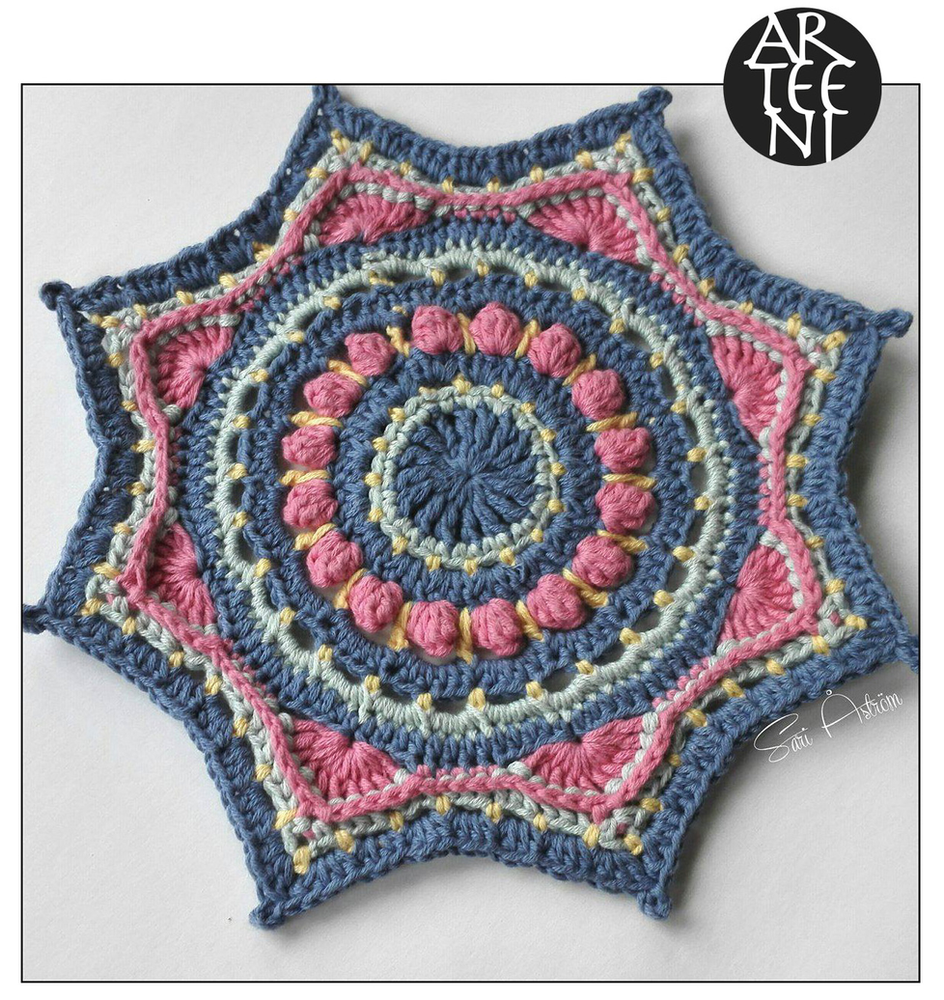 Anastasia A Little Crochet Mandala