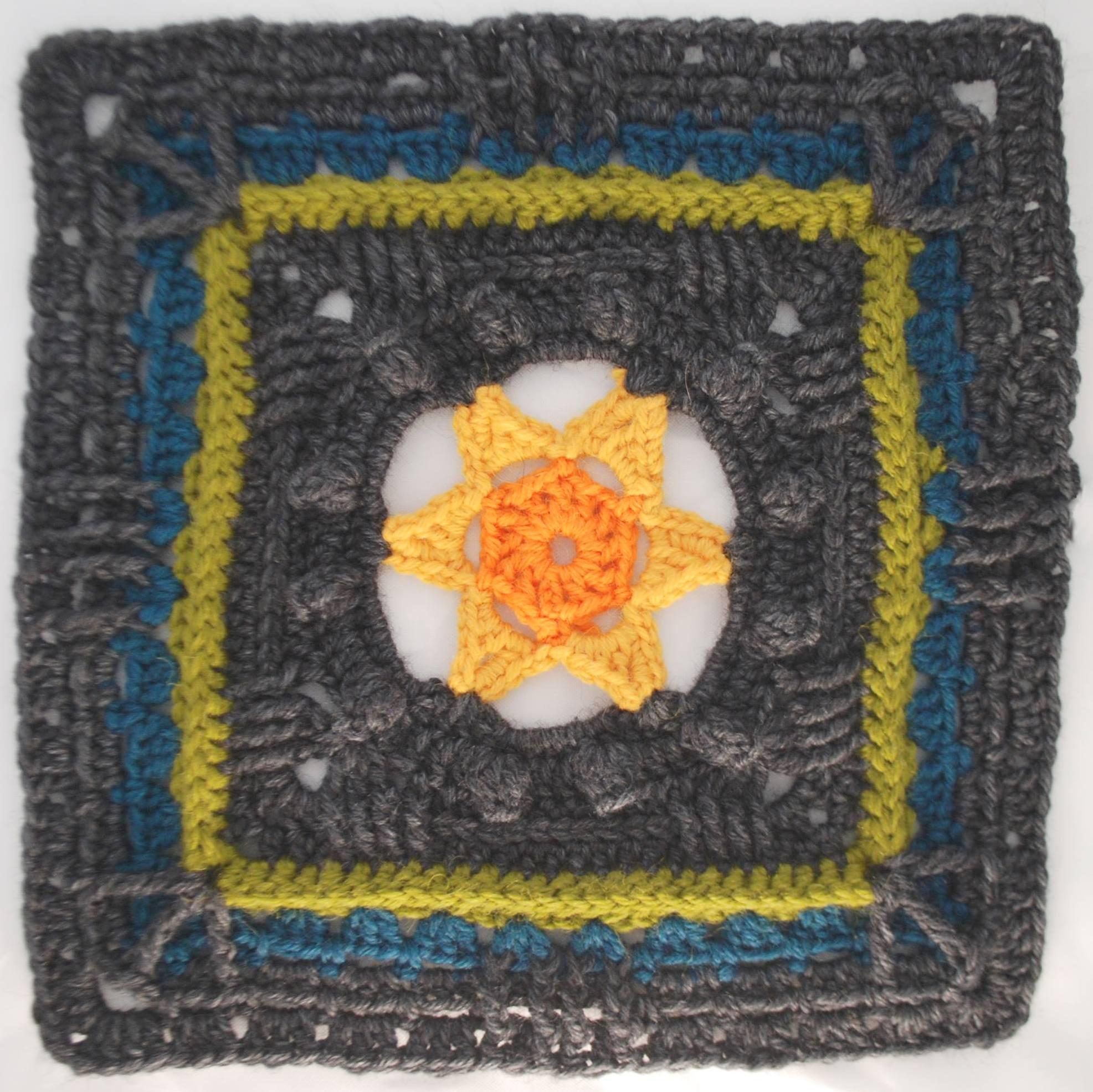 Kalevala CAL - Osa 4 - Kätketty aurinko | Crochet and knit designs and patterns | Sari Åström ...