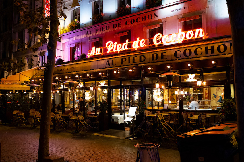 Restaurants in Paris | Au Pied de Cochon
