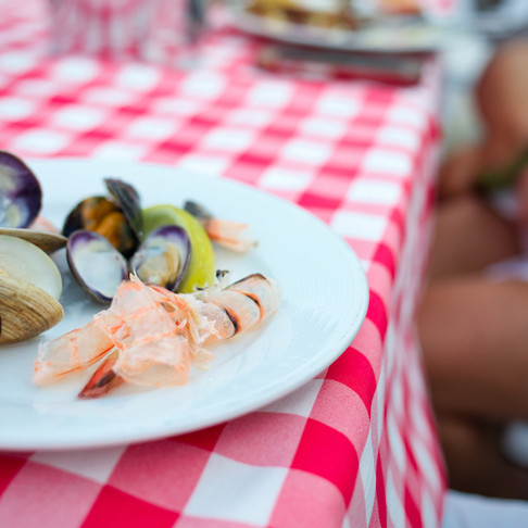 A Classic Clambake at Bahia Resort Hotel in San Diego