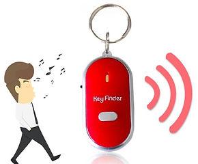 Mini Keychain Alarm Locator (For Keys, Phone, Wallet)