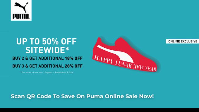 Puma New Year Sale