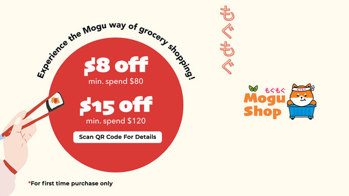 Experience the Mogu way of grocery shopping