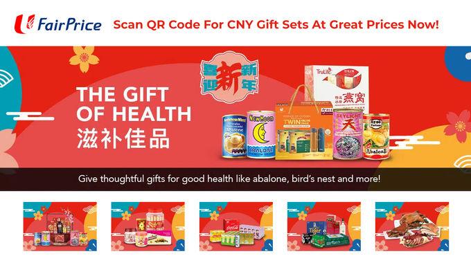 NTUC Fairprice CNY Gift Ideas Promo