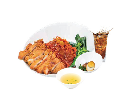 Chicken Cutlet Tomato Noodle