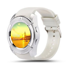 Waterproof Bluetooth Smart Watch with Touch Screen and Camera