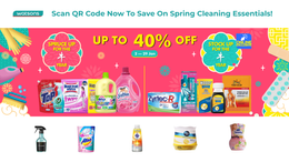 Watsons Spring Cleaning Promo