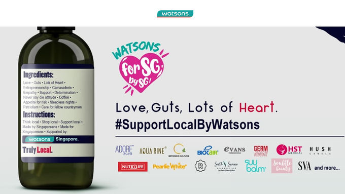 Watsons Support Local Promo