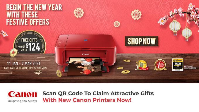 Canon Printer Promo