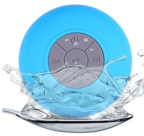 Waterproof Bluetooth Portable Speaker for Showers