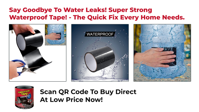 Super Strong Fiber Waterproof Tape