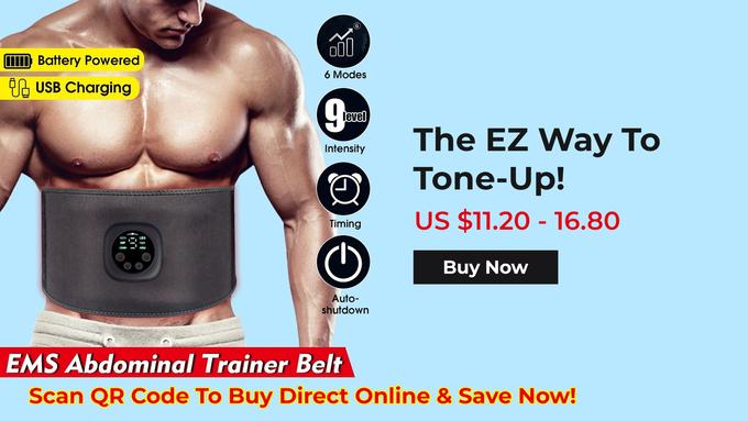 Intelligent EMS Fitness Trainer Belt