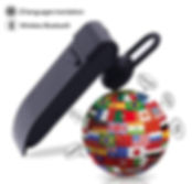 Smart Voice Instant Translator Wireless Bluetooth Earphone (25 Languages)
