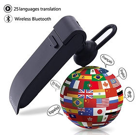 Smart Voice Instant Translator Wireless Bluetooth Earphone (25 Languages)