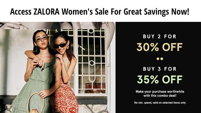 ZALORA Women Sale