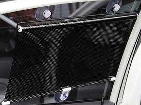 Universal Retractable Car Curtain Window Protector 40x60cm