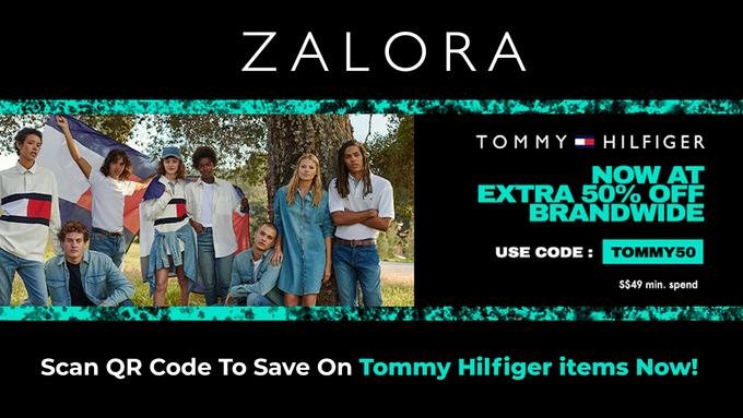 Zalora Tommy Hilfiger Promo